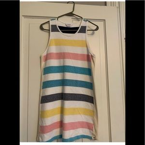 Splendid X Gray Malin Striped Cotton Dress Medium